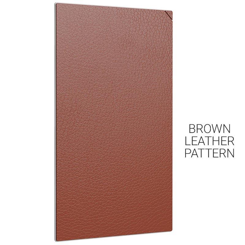 gb003 20pcs 棕色皮纹
