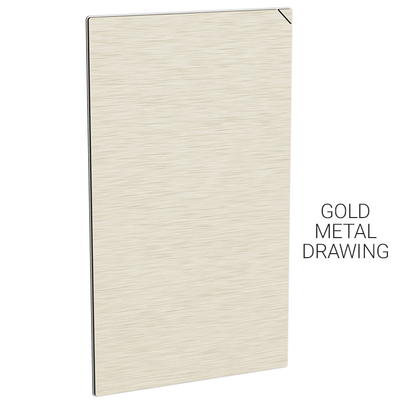 gb004 20pcs gold metal drawing