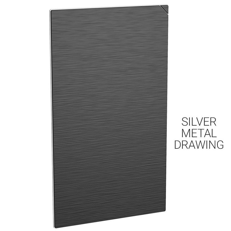 gb004 20pcs silver metal drawing