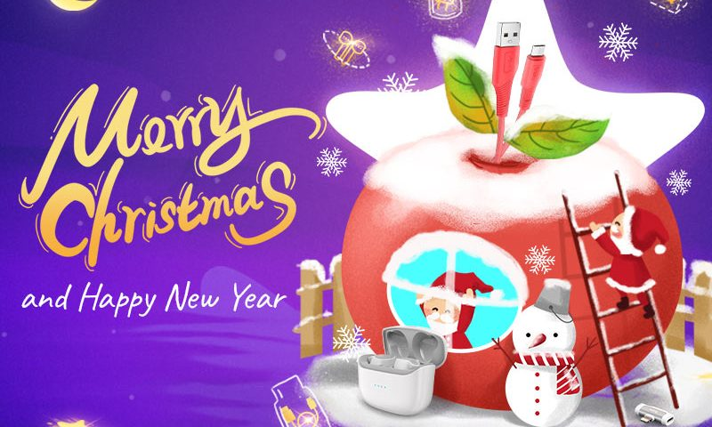 hoco happy new year and merry christmas 2021 banner en