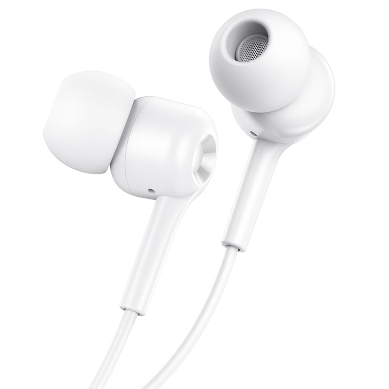 hoco m82 la musique universal earphones with mic eartips white