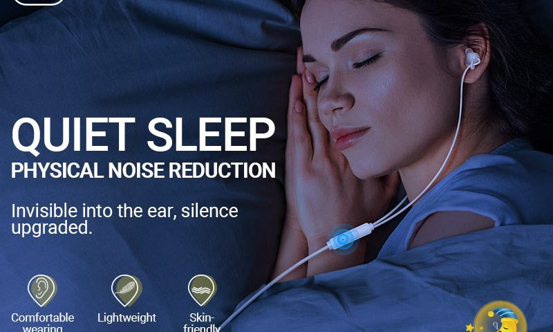 hoco news m81 imperceptible sleeping earphones with mic banner en