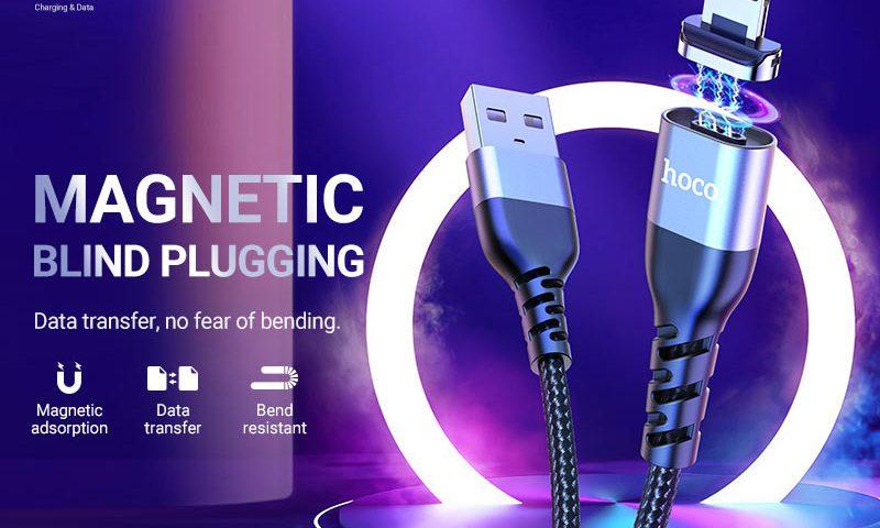 hoco news u96 traveller magnetic charging data cable banner en