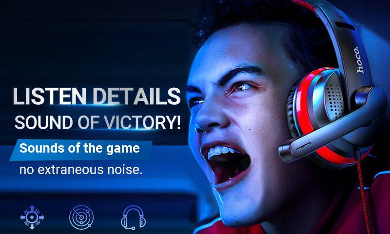 hoco news w103 magic tour gaming headphones banner en