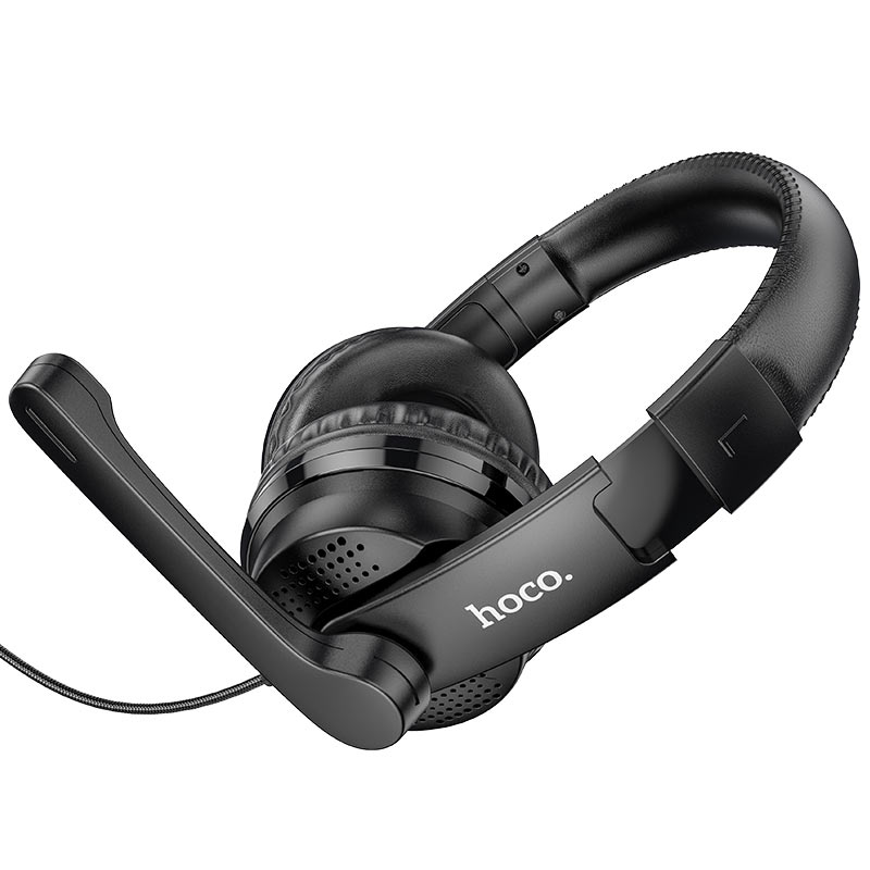 hoco w103 magic tour gaming headphones mic