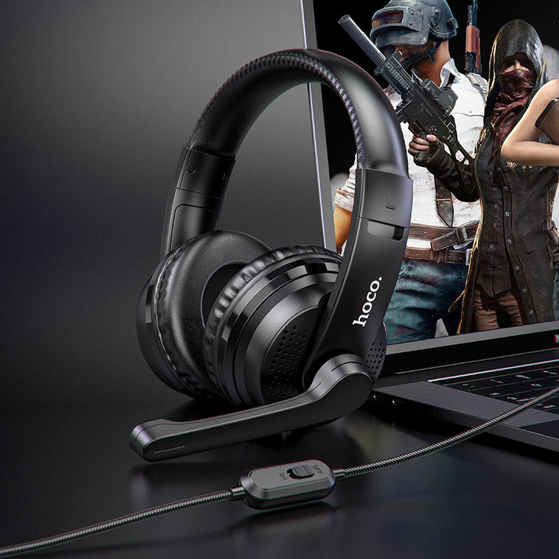 hoco w103 magic tour gaming headphones overview