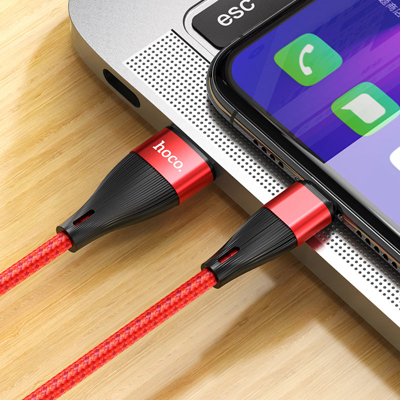 hoco x57 blessing charging data cable for type c charger