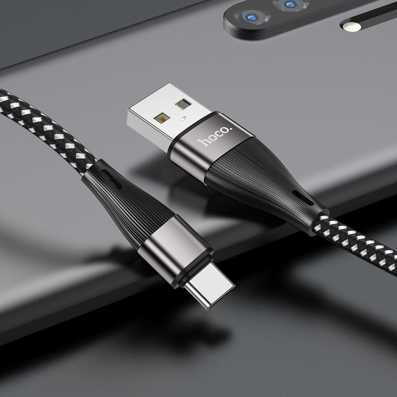 hoco x57 blessing charging data cable for type c interior