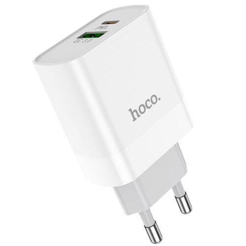 hoco c80a rapido pd20w qc3 wall charger eu
