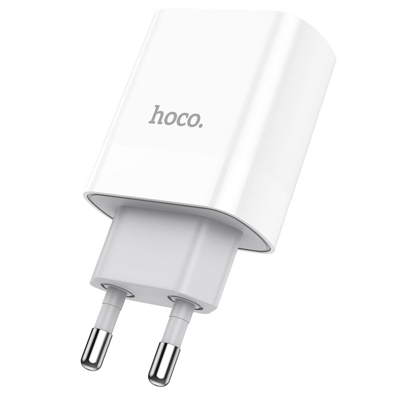 hoco c80a rapido pd20w qc3 wall charger eu plug