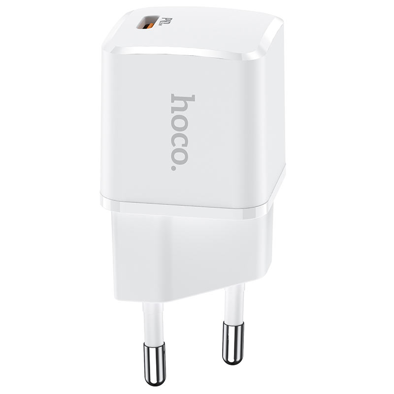 hoco n10 starter single port pd20w wall charger eu