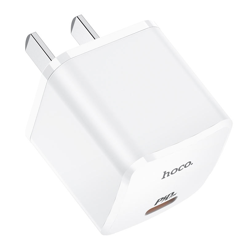 hoco nc1 atom single port pd20w wall charger 3c housing
