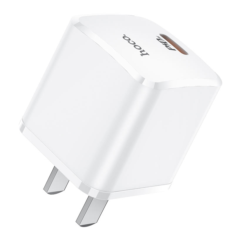 hoco nc1 atom single port pd20w wall charger 3c