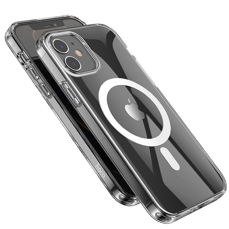浩酷 透明 tpu 磁吸保护壳 iphone 12 12mini 12pro 12promax 摄像头